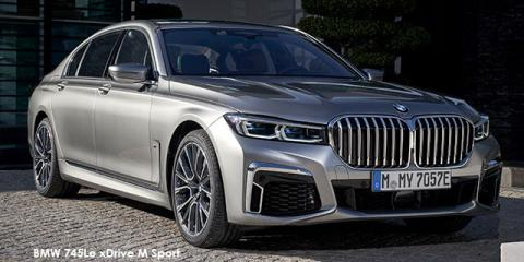 BMW 745Le xDrive M Sport - Image credit: © 2019 duoporta. Generic Image shown.