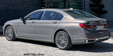 BMW 750Li xDrive - Image credit: © 2020 duoporta. Generic Image shown.