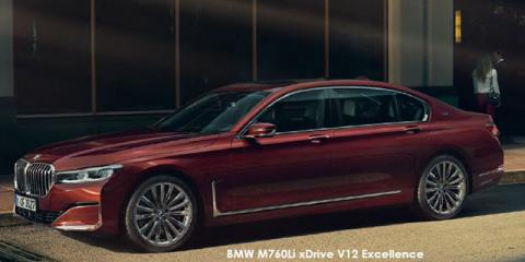 BMW M760Li xDrive V12 Excellence - Image credit: © 2019 duoporta. Generic Image shown.
