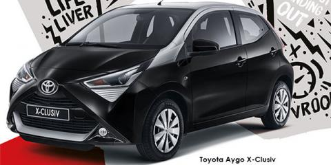 Toyota Aygo 1.0 X-Clusiv - Image credit: © 2019 duoporta. Generic Image shown.