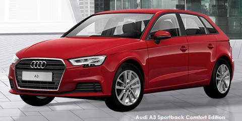 Audi A3 Sportback 30TFSI Comfort Edition - Image credit: © 2019 duoporta. Generic Image shown.