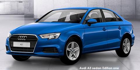 Audi A3 sedan 30TFSI Edition one - Image credit: © 2019 duoporta. Generic Image shown.