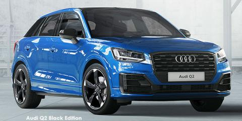 Audi Q2 30TFSI sport Black Edition - Image credit: © 2021 duoporta. Generic Image shown.