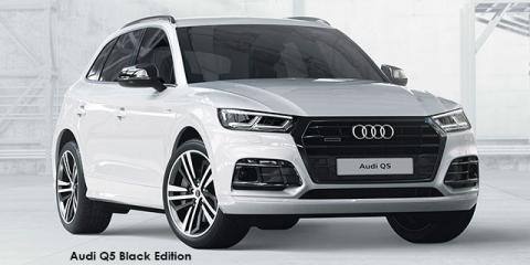 Audi Q5 40TDI quattro sport Black Edition - Image credit: © 2019 duoporta. Generic Image shown.