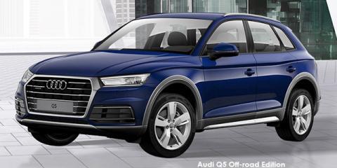 Audi Q5 45TFSI quattro Off-road Edition - Image credit: © 2020 duoporta. Generic Image shown.