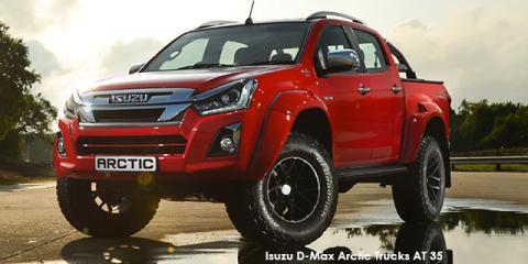 Isuzu D-Max 3.0 TD double cab 4x4 LX Arctic Trucks AT 35 - Image credit: © 2019 duoporta. Generic Image shown.