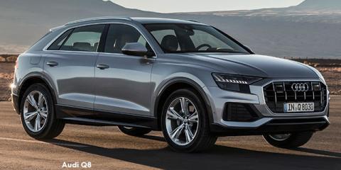 Audi Q8 55TFSI quattro - Image credit: © 2020 duoporta. Generic Image shown.