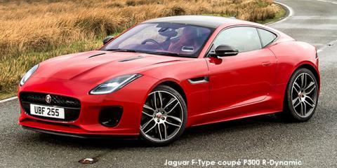 Jaguar F-Type coupe P340 auto - Image credit: © 2019 duoporta. Generic Image shown.