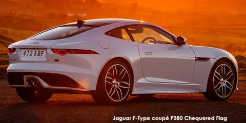 Jaguar F-Type coupe P340 Chequered Flag - Image credit: © 2019 duoporta. Generic Image shown.