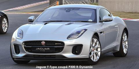 Jaguar F-Type coupe P380 R-Dynamic auto - Image credit: © 2019 duoporta. Generic Image shown.