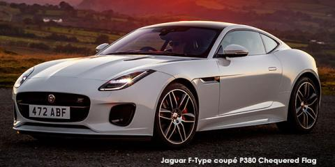 Jaguar F-Type coupe P380 AWD Chequered Flag - Image credit: © 2019 duoporta. Generic Image shown.