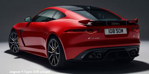 Jaguar F-Type SVR coupe AWD - Image credit: © 2019 duoporta. Generic Image shown.