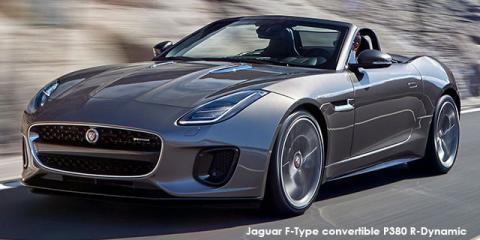 Jaguar F-Type convertible P340 auto - Image credit: © 2019 duoporta. Generic Image shown.