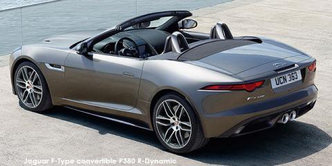 Jaguar F-Type convertible P380 R-Dynamic - Image credit: © 2019 duoporta. Generic Image shown.