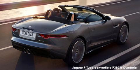 Jaguar F-Type convertible P380 R-Dynamic auto - Image credit: © 2019 duoporta. Generic Image shown.