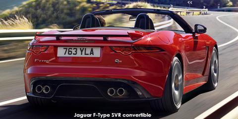Jaguar F-Type R convertible AWD - Image credit: © 2019 duoporta. Generic Image shown.