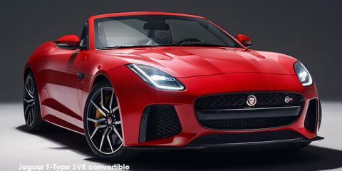 Jaguar F-Type SVR convertible AWD - Image credit: © 2019 duoporta. Generic Image shown.