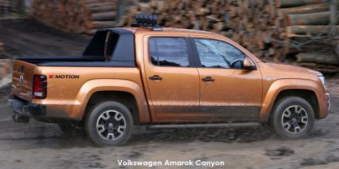 Volkswagen Amarok 3.0 V6 TDI double cab Canyon 4Motion - Image credit: © 2019 duoporta. Generic Image shown.