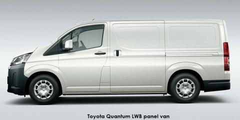 Toyota Quantum 2.8 LWB panel van - Image credit: © 2020 duoporta. Generic Image shown.