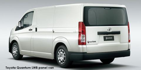 Toyota Quantum 2.8 LWB panel van - Image credit: © 2019 duoporta. Generic Image shown.