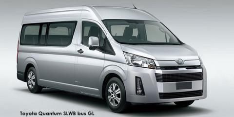 Toyota Quantum 2.8 SLWB bus 14-seater GL - Image credit: © 2019 duoporta. Generic Image shown.