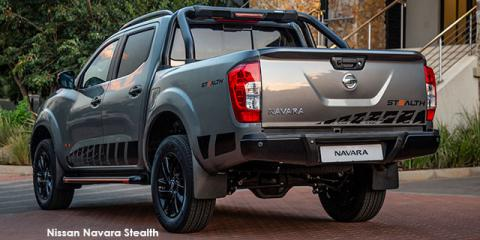 Nissan Navara 2.3D double cab 4x4 Stealth auto - Image credit: © 2019 duoporta. Generic Image shown.