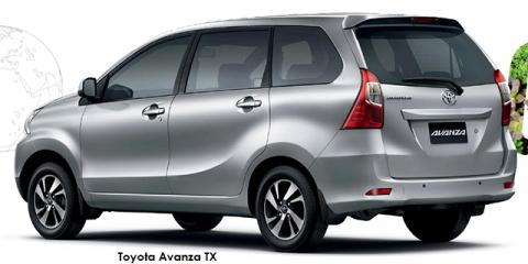 Toyota Avanza 1.3 SX - Image credit: © 2019 duoporta. Generic Image shown.
