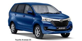 Toyota Avanza - Image credit: © 2019 duoporta. Generic Image shown.