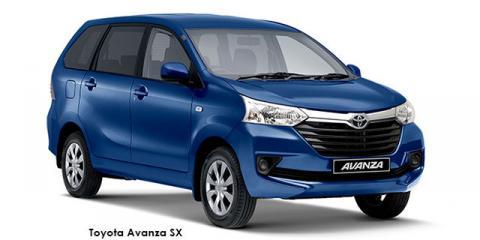 Toyota Avanza 1.5 SX auto - Image credit: © 2021 duoporta. Generic Image shown.