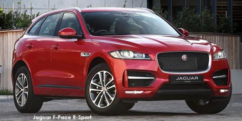 Jaguar F-Pace 25t Pure - Image credit: © 2019 duoporta. Generic Image shown.