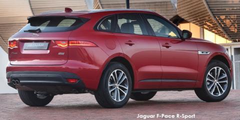 Jaguar F-Pace 25t AWD Pure - Image credit: © 2019 duoporta. Generic Image shown.