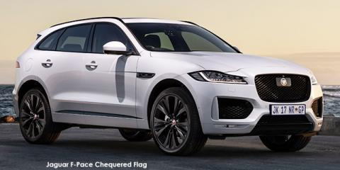 Jaguar F-Pace 25d AWD Chequered Flag - Image credit: © 2020 duoporta. Generic Image shown.