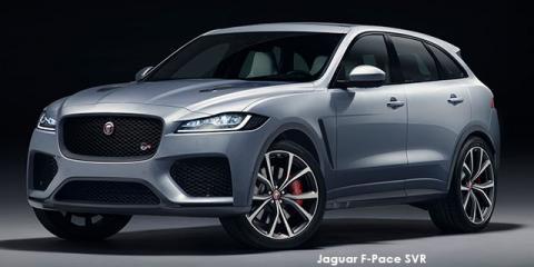 Jaguar F-Pace SVR - Image credit: © 2019 duoporta. Generic Image shown.