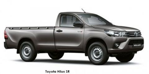 Toyota Hilux 2.4GD-6 SR - Image credit: © 2019 duoporta. Generic Image shown.