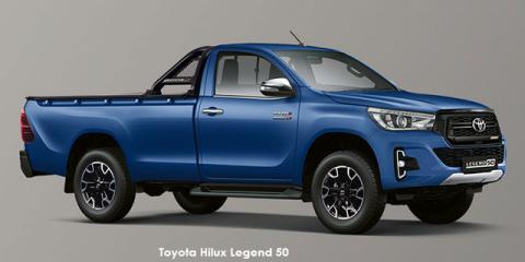 Toyota Hilux 2.8GD-6 Legend 50 auto - Image credit: © 2020 duoporta. Generic Image shown.