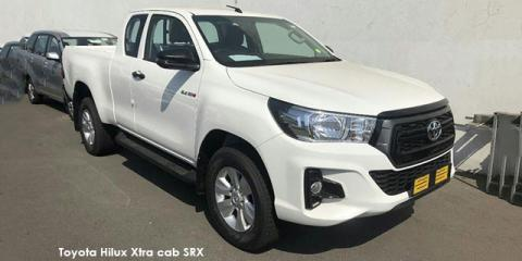 Toyota Hilux 2.4GD-6 Xtra cab SRX - Image credit: © 2020 duoporta. Generic Image shown.