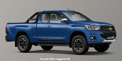 Toyota Hilux 2.8GD-6 Xtra cab Legend 50 - Image credit: © 2019 duoporta. Generic Image shown.
