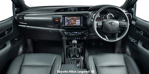 Toyota Hilux 2.8GD-6 Xtra cab 4x4 Legend 50 auto - Image credit: © 2019 duoporta. Generic Image shown.