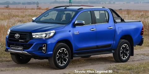 Toyota Hilux 2.8GD-6 double cab Legend 50 auto - Image credit: © 2019 duoporta. Generic Image shown.