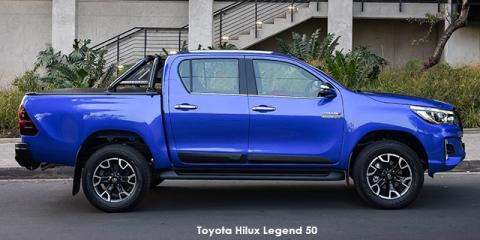 Toyota Hilux 2.8GD-6 double cab 4x4 Legend 50 auto - Image credit: © 2019 duoporta. Generic Image shown.