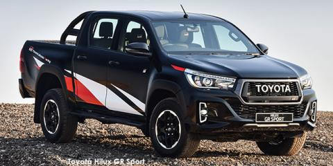 Toyota Hilux 2.8GD-6 double cab 4x4 GR Sport - Image credit: © 2019 duoporta. Generic Image shown.