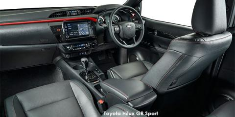 Toyota Hilux 2.8GD-6 double cab 4x4 GR Sport - Image credit: © 2020 duoporta. Generic Image shown.