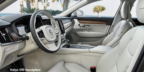 Volvo S90 T6 AWD Inscription - Image credit: © 2020 duoporta. Generic Image shown.