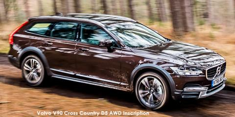 Volvo V90 Cross Country T5 AWD Inscription - Image credit: © 2021 duoporta. Generic Image shown.