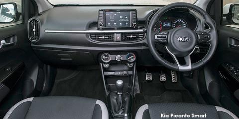 Kia Picanto 1.2 Smart auto - Image credit: © 2019 duoporta. Generic Image shown.