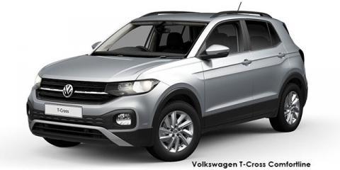 Volkswagen T-Cross 1.0TSI 85kW Comfortline - Image credit: © 2019 duoporta. Generic Image shown.