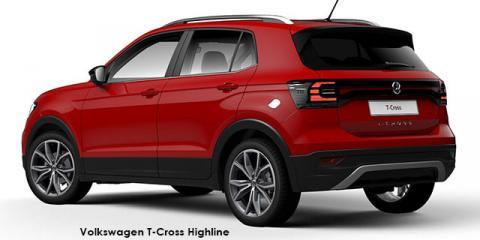 Volkswagen T-Cross 1.0TSI 85kW Highline - Image credit: © 2019 duoporta. Generic Image shown.