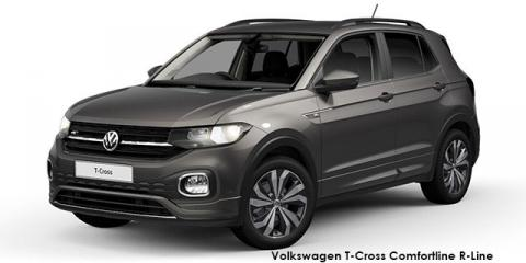 Volkswagen T-Cross 1.0TSI 85kW Comfortline R-Line - Image credit: © 2019 duoporta. Generic Image shown.