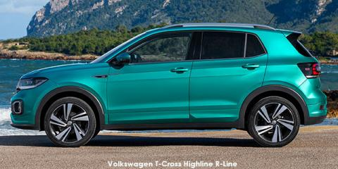 Volkswagen T-Cross 1.0TSI 85kW Highline R-Line - Image credit: © 2019 duoporta. Generic Image shown.