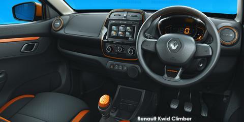 Renault Kwid 1.0 Climber auto - Image credit: © 2019 duoporta. Generic Image shown.